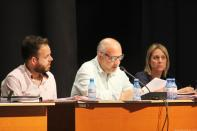 PORTAVOZ PSOE DURANTE EL DEBATE DEL PLENO 17