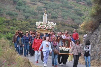 PROCESION VIRGEN FATIMA EL CERVAL 13