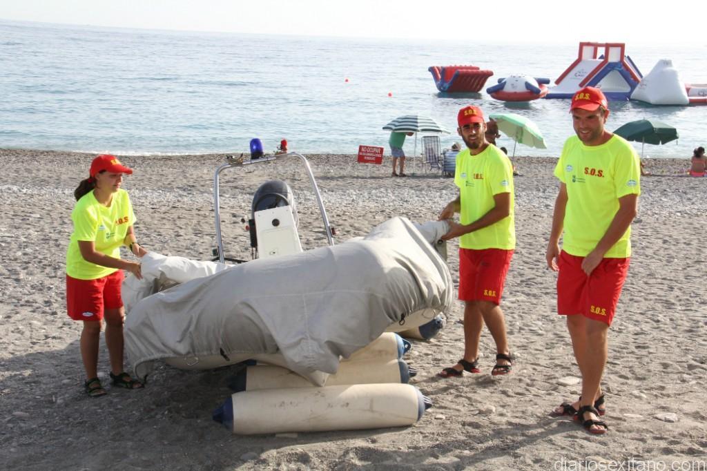 Almuñécar pone en marcha este martes el Servicio de Socorro en las playas