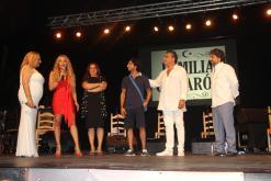 FAMILIA CAMARON JUNTO PRESENTADOR ESPECTACULO EN ALMUÑECAR 17