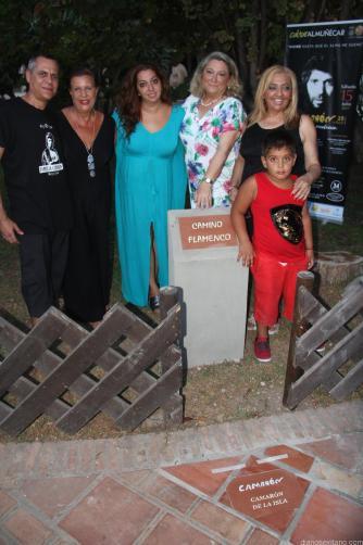 PLACA CAMARON CAMINO FLAMENCO ALMÑUECAR V 17