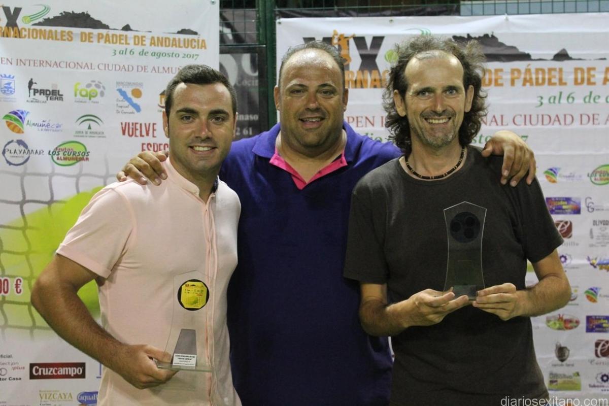 """Montes y Ruiz ganaron el Open de Pádel """"Ciudad de Almuñécar"""""""