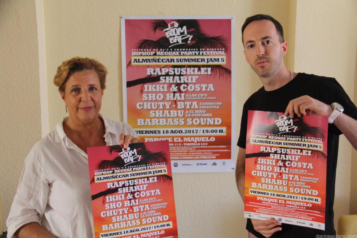 Almuñécar celebra este viernes el V Festival Summer Jam con un destacado y completo cartel