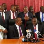 Kuria worked for Karua not Uhuru, Jubilee MPs tell Raila