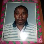 Death announcement of David Gacheru Ngobu