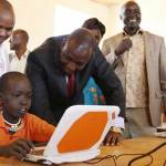 Jubilee's laptop project pilot to start in 150 schools