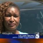 VIDEO:Kenyan woman's car stolen at Jiffy Lube as she waits for oil change in California