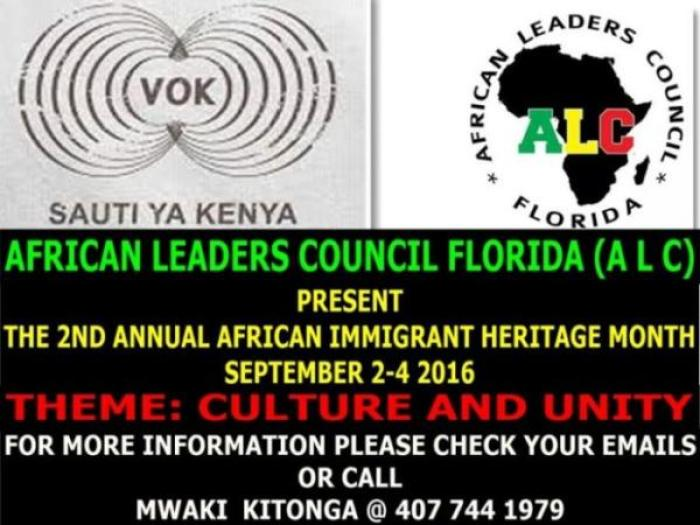 AFRICAN IMMIGRANT HERITAGE MONTH