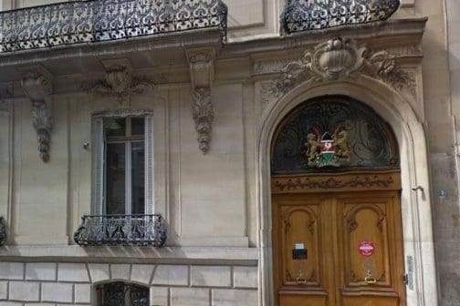 Kenya embassy in France