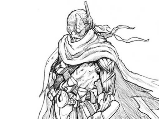Diseño de personaje: El Exiliado