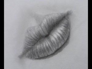 dibujos a lapiz de labios (8)