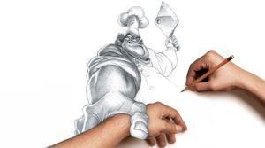 dibujos a lapiz en tercera dimension (11)