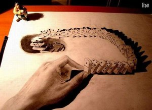 dibujos a lapiz en tercera dimension (3)