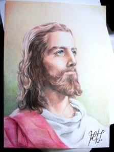 dibujos a lapiz jesus (4)