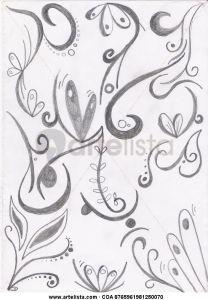 Dibujos a lápiz abstractos (11)