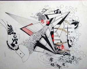 Dibujos a lápiz abstractos (3)