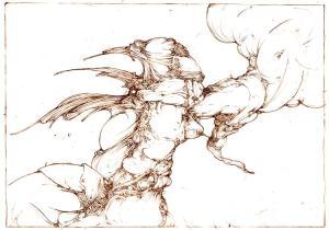 Dibujos a lápiz abstractos (6)