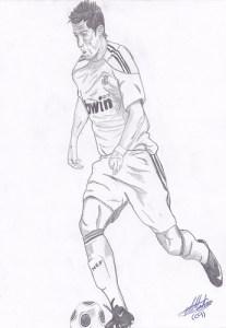 Dibujos a lápiz de jugadores de futbol (5)