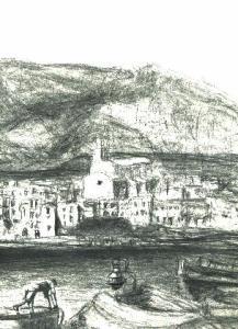 dibujos a lapiz de paisajes (7)