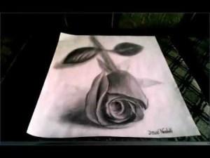 Dibujos a lápiz en 3d (5)