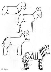 Dibujos a lápiz para principiantes (4)