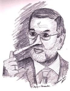 Dibujos a lápiz de caricaturas (10)