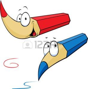 Divertidos dibujos a lápiz animados (11)