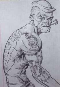 Dibujos a lápiz para tatuajes (6)