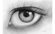15 imágenes con opciones de dibujos a lápiz de ojos (1)