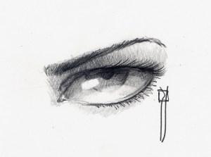 15 imágenes con opciones de dibujos a lápiz de ojos (14)