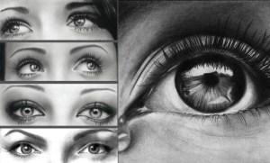 15 imágenes con opciones de dibujos a lápiz de ojos (4)