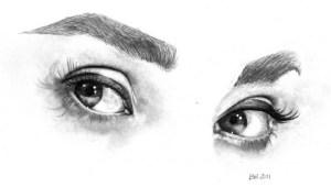 15 imágenes con opciones de dibujos a lápiz de ojos (6)
