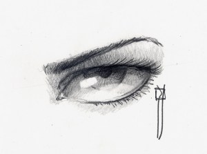 15 opciones de dibujos a lápiz de ojos (10)