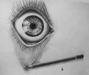 15 opciones de dibujos a lápiz de ojos (12)