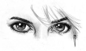 15 opciones de dibujos a lápiz de ojos (15)