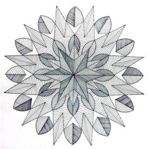 15 opciones de dibujos a lápiz geométricos (11)