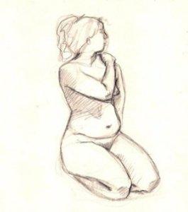 15 opciones para comenzar a realizar dibujos a lápiz de figura humana (9)