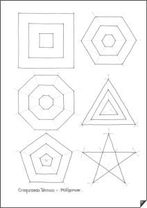 Dibujos geométricos a lápiz (7)