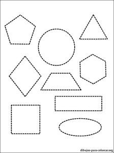 Dibujos geométricos a lápiz (8)