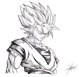 Dibujos a lápiz de dragon ball z (3)