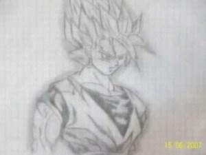 Dibujos a lápiz de dragon ball z (8)