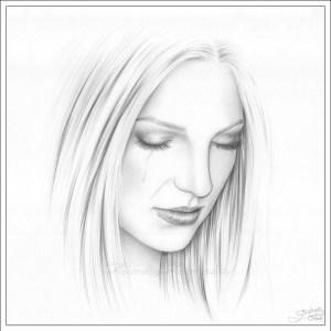 Galería de imágenes con 13 dibujos de rostros a lápiz (11)