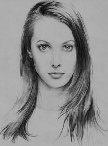 Galería de imágenes con 13 dibujos de rostros a lápiz (7)