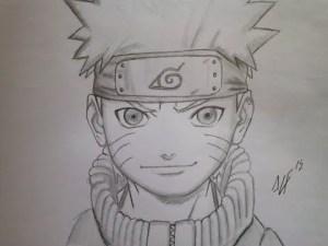 10 Dibujos a lapiz de Naruto (4)