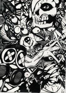 9 Interesantes dibujos a lápiz abstractos (6)