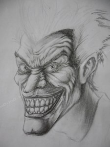 10 Dibujos a lápiz del joker (6)