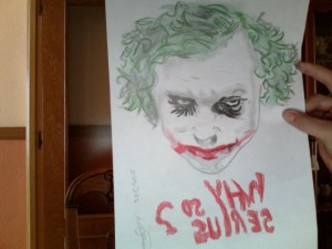10 Dibujos a lápiz del joker (7)
