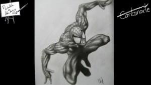 10 Dibujos a lapiz de Spiderman (11)