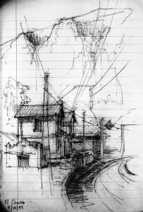 10 Dibujos de paisajes urbanos (10)