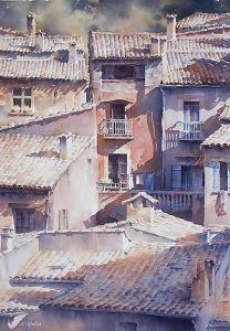 10 Dibujos de paisajes urbanos (2)